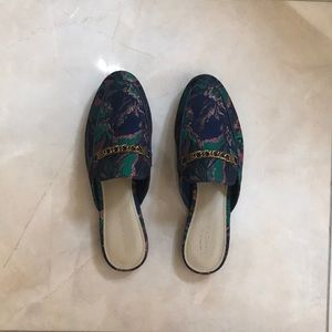 Marc Fisher slip on mules